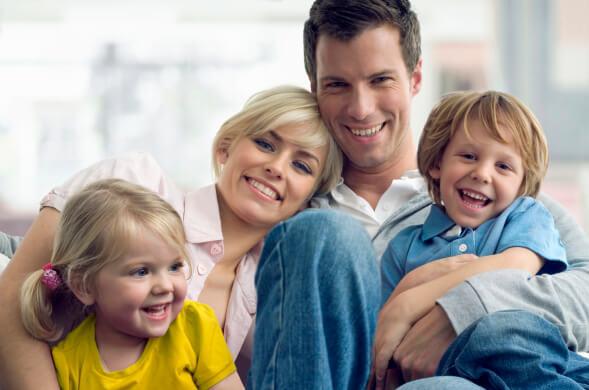 Keine Sorge um die Krankenversicherung als Familie eines Grenzgängers