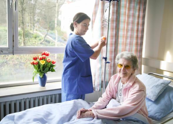 Beste Behandlung im Spital / Krankenhaus mit einer Krankenhauszusatzversicherung
